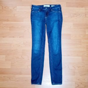 Hollister Faded Thigh Low Rise Jean Leggings - 3R